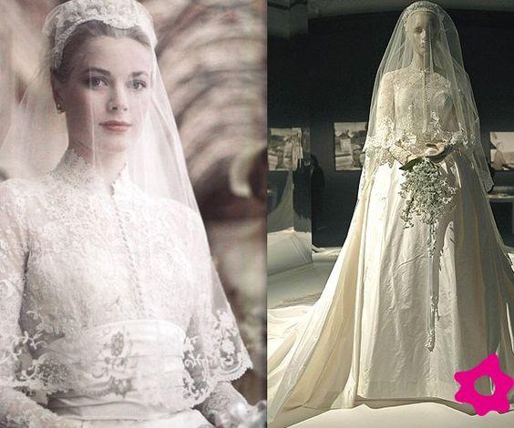 Vestido de novia de Grace Kelly