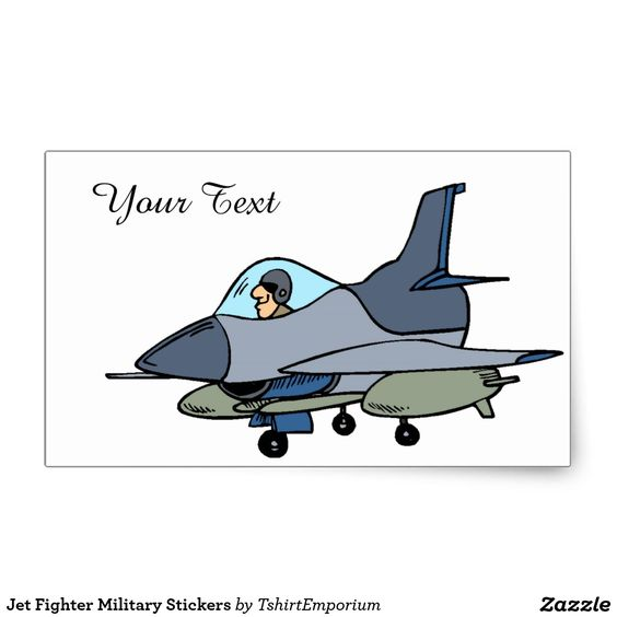 Jet Fighter Military Stickers                              …