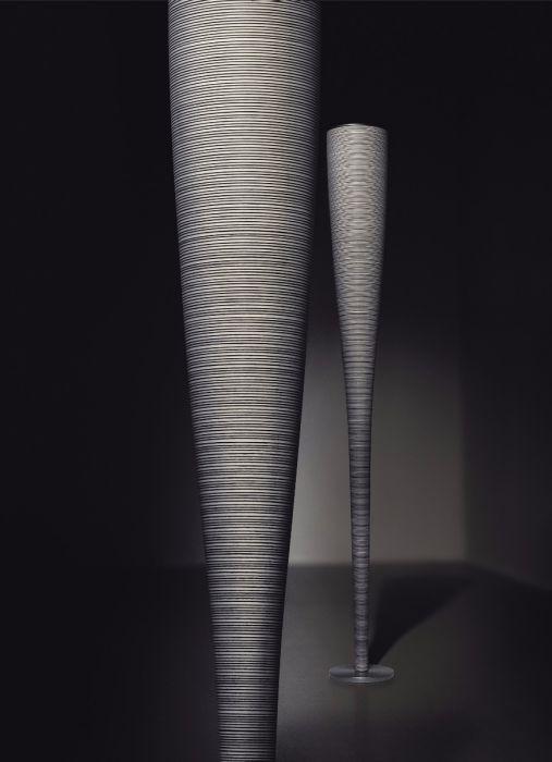 Mite vloerlamp led zwart Foscarini | Slijkhuis Interieur Design ...