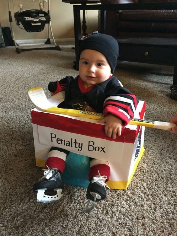 Hockey Baby in Penalty Box | Homemade Halloween ...