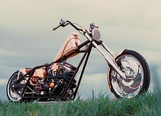 Copper Bike - Jesse James