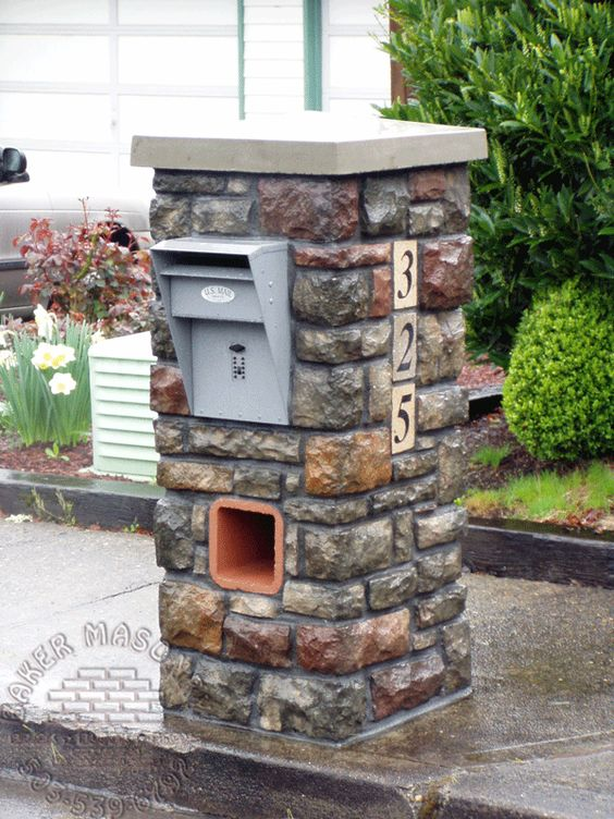Cultured Stone Mailbox Www Tigerstoneandbrick Com