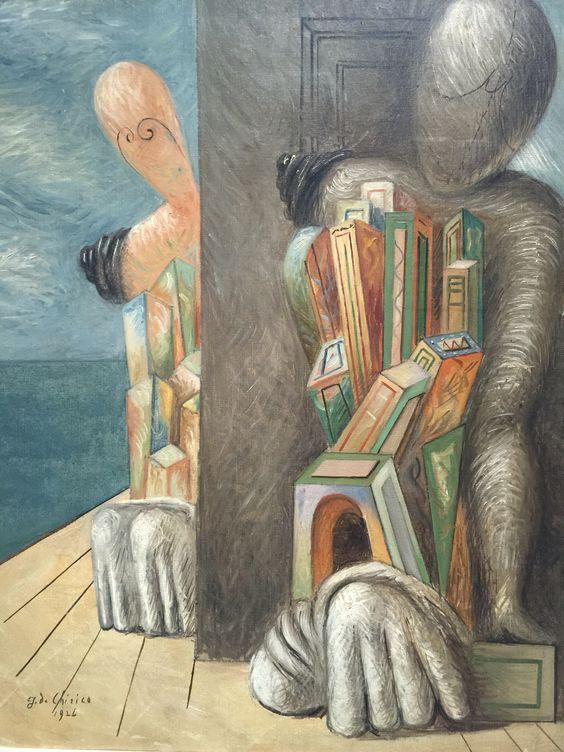 Giorgio De Chirico - Mannequins on the seashore - 1926