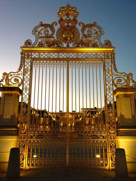 Salle Des Glaces Versailles | Coucher de soleil au château de Versailles