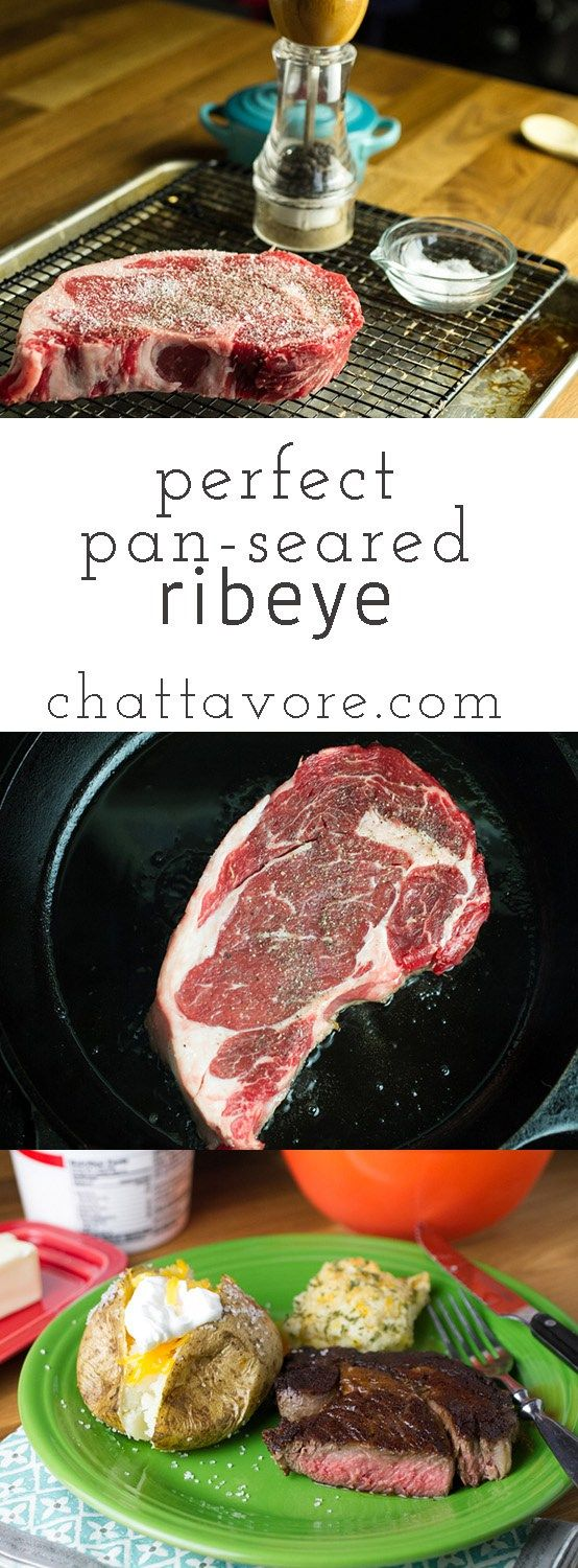 to cook, but I finally got it right with this perfect pan-seared steak ...