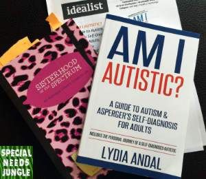 I've been sent a few books lately about diagnosing Autism / Asperger's in girls…
