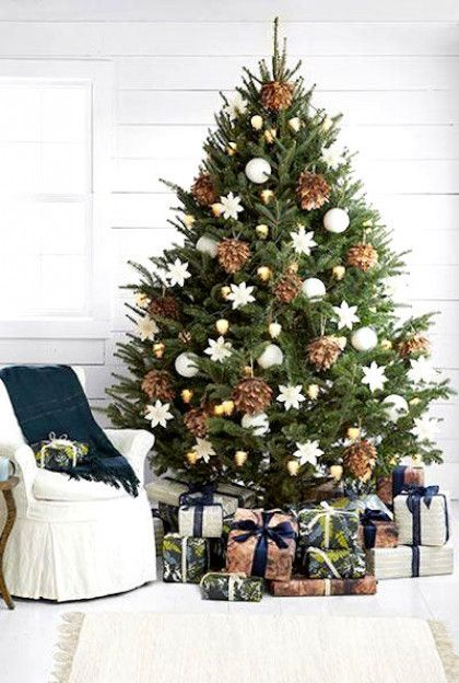 These Are The 10 Best Christmas Trees On The Internet Elegant Christmas Trees Cool Christmas Trees Christmas Tree Design