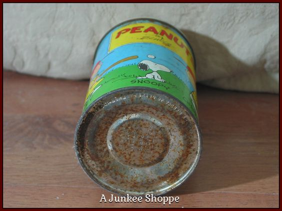 PEANUTS 1959 Thermos Damaged Charlie Brown Snoopy Lucy Linus No Lunchbox Used Junk 941  http://ajunkeeshoppe.blogspot.com/