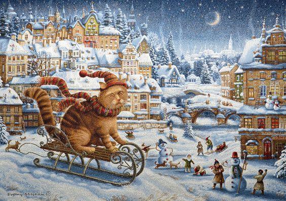 Зимние забавы Шишкин Е