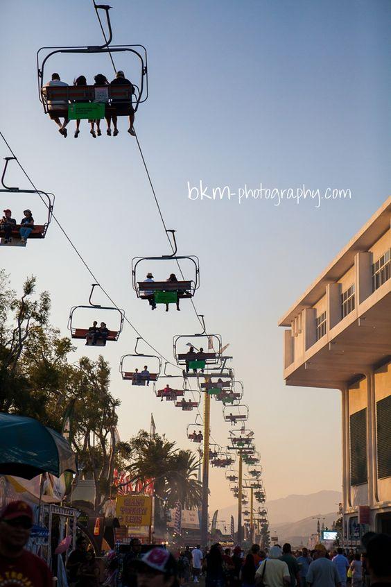LA County Fair Ski Lift ∞ Los Angeles Photographer — bkm photography http://socalfair.com  #socalfair# southerncaliforniafair #socalfarperris