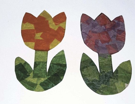 Free Monthly Wax Paper Art