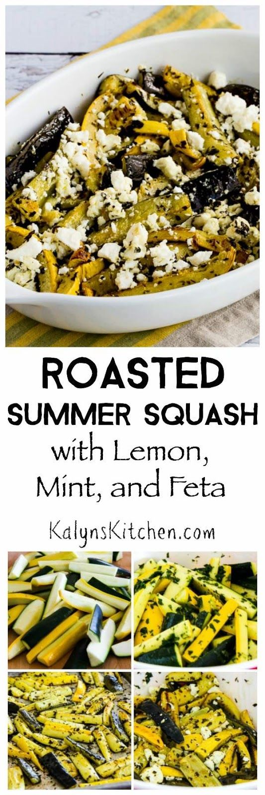 Roasted summer squash, Summer squash and Squashes on Pinterest