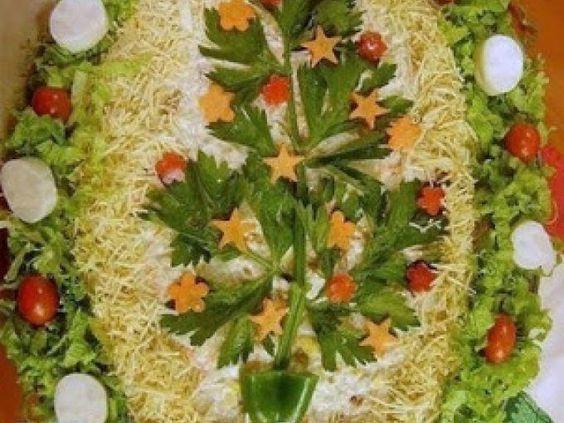 Receita Entrada : Salpicão de atum de Culinarista Mauro Rebelo