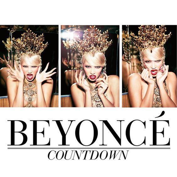 Beyoncé – Countdown (single cover art)
