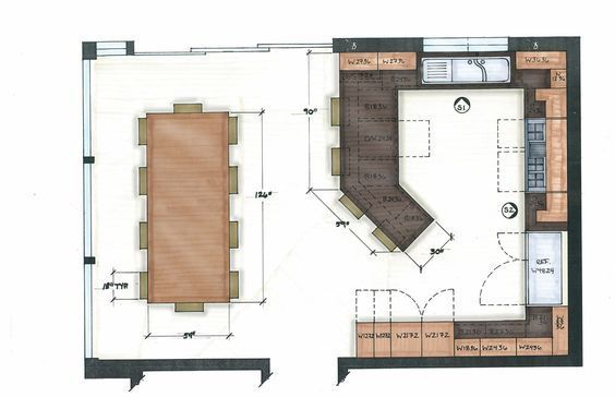 Kitchen Of My Dreams Kitchen Layout Plans Kitchen Layouts With Island Kitchen Floor Plans
