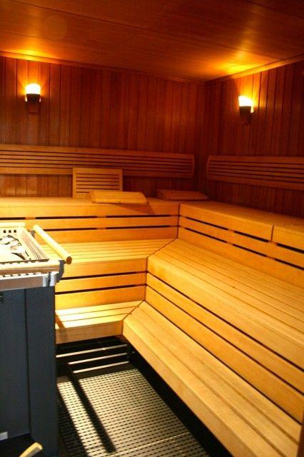 Blick in die Sauna im Göbel's Vital Hotel Bad Sachsa. #Wellnesshotel im #Harz.