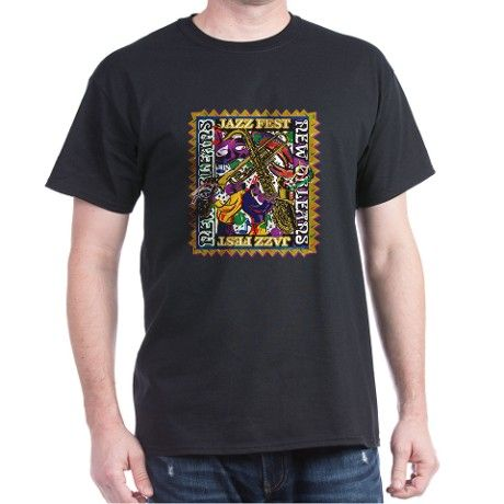 Jazz Fest New Orleans Dark T-Shirt