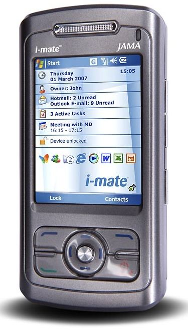 i-mate JAMA Device Specifications | Handset Detection