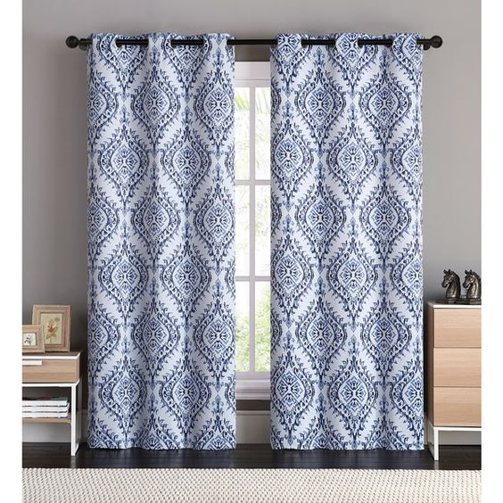 Curtains Ideas 86 inch curtain panels : Blue, Cream, Pink, Purple or White 60-inch x 63-inch Crushed Voile ...