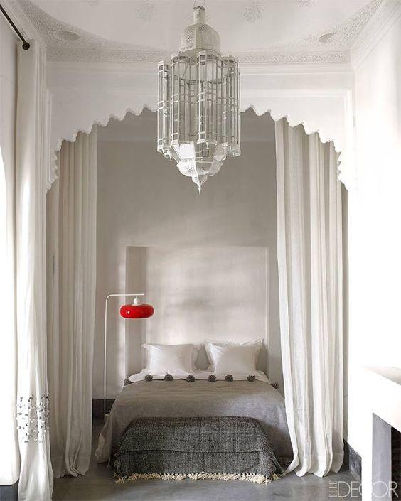 dom w Marrakeszu projekt: Romain Michel-Ménière, Zdjęcia: Elle Decor