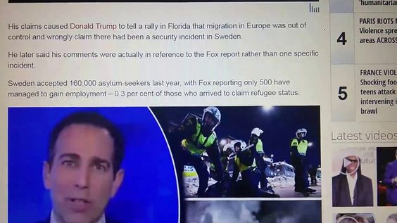 Sweden Riots Looting, Cars Torched, Police Attacked as Riots - security incident report