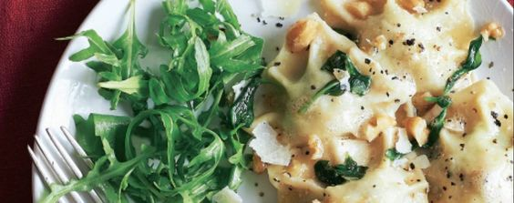 Masterclass spinach & ricotta ravioli