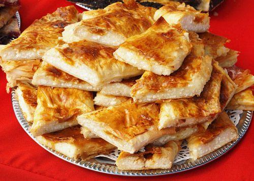 bg kitchen- banica with cheese