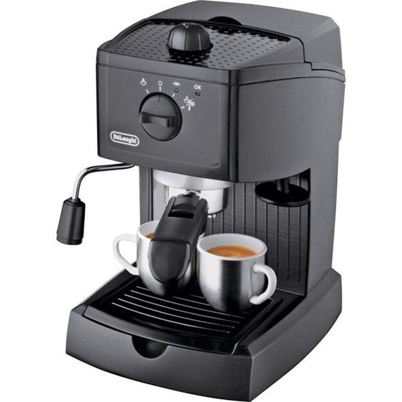 Delonghi Coffee Maker Sainsburys : Buy De Longhi EC145 Espresso Cappuccino Maker - Black at Argos.co.uk, visit Argos.co.uk to shop ...
