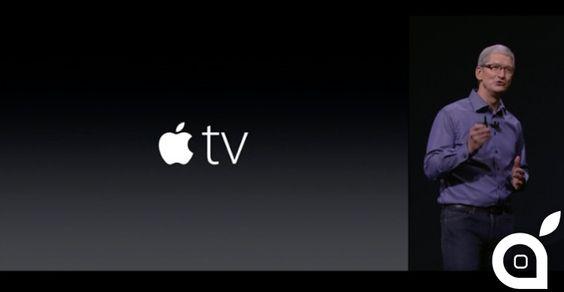 Ecco la nuova Apple TV: tvOS nuovo telecomando smart supporto per Siri