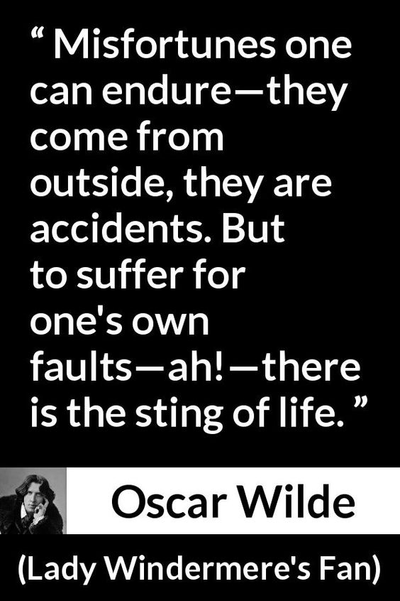 Oscar Wilde about life