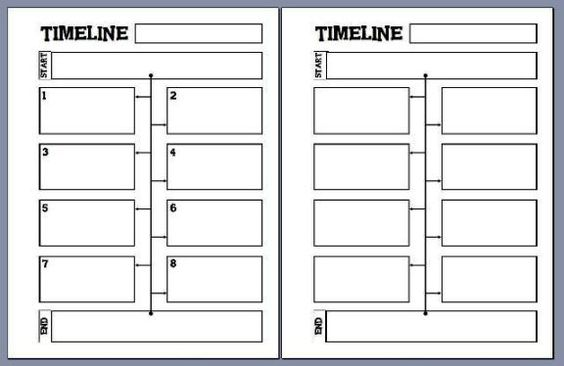Vertical Timeline Template For Kids Image Gallery  Hcpr