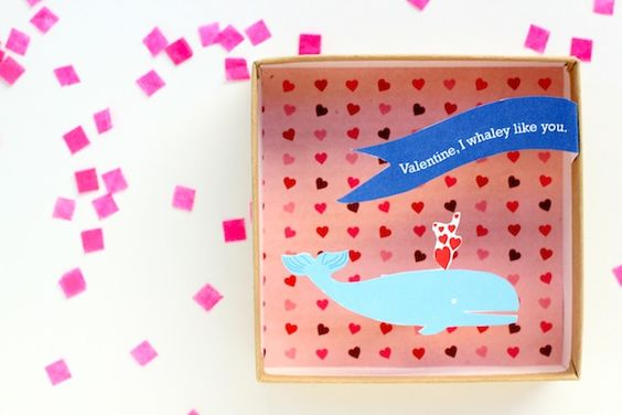 pop-up box valentines are my fave