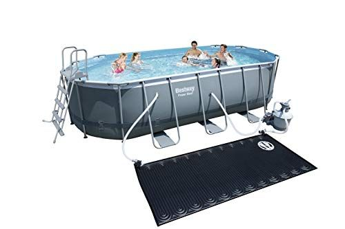 Bestway 14259 Piscine Hors Sol Power Steel Gris En 2020 Piscine