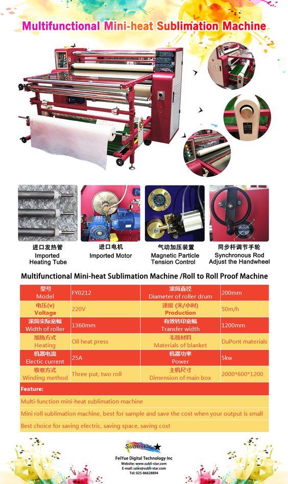 Multifunctional Mini Roller Heat Press Machine