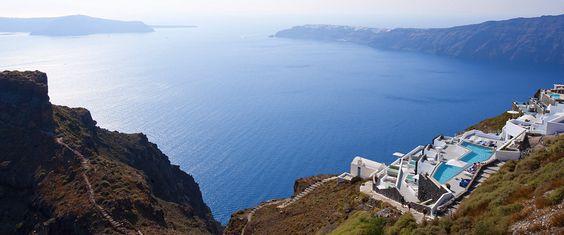 Santorini, Greece... Happy Place