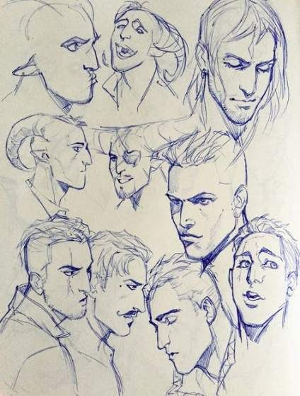 29 Trendy Drawing Anime Male Facial Expressions Character Design Character Art Sketches