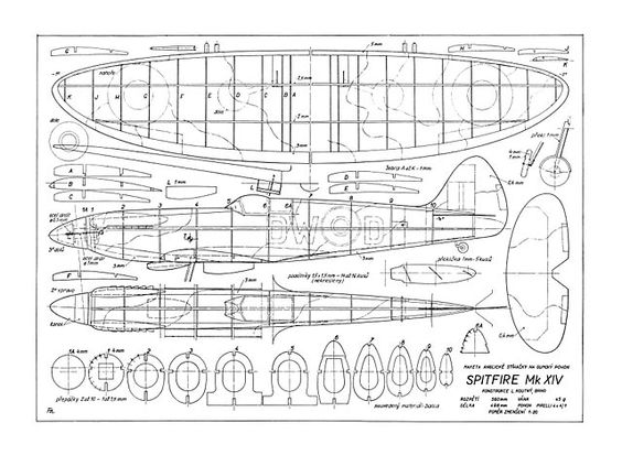 Link to Full Plans for a Spitfire
