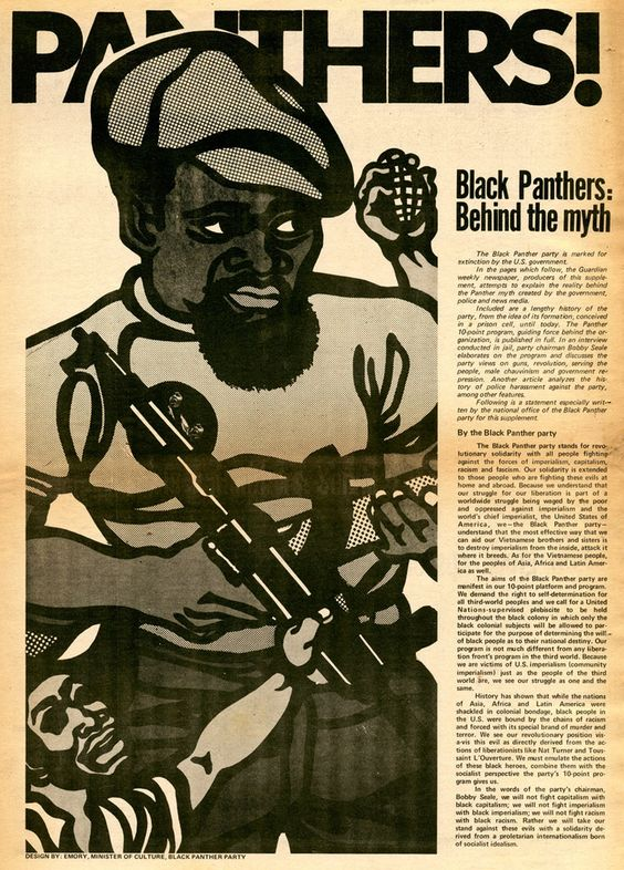 Guardian – Black Panthers: Behind the Myth | Genius