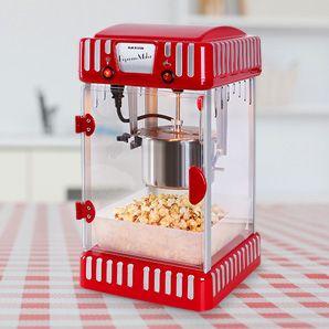 Klarstein Volcano Popcornmaschine 300W Rührwerk Edelstahl-Topf günstig kaufen