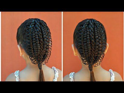 Peinado Para Ninas Con Trenza De 4 Cabos De Medio Lado Facil De Hacer Youtube Trenza De 4 Cabos Trenzas De Ninas Peinados Elegantes