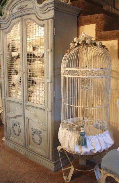 Cabinet, Birdcage, Tassle