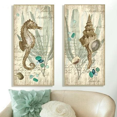 Beach Wood Signs by Suzanne Nicoll