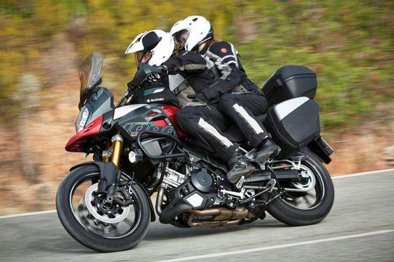 suzuki v-strom 650 two riders - Google Search