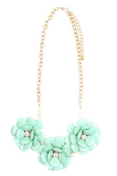 Flower Pop Statement Necklace