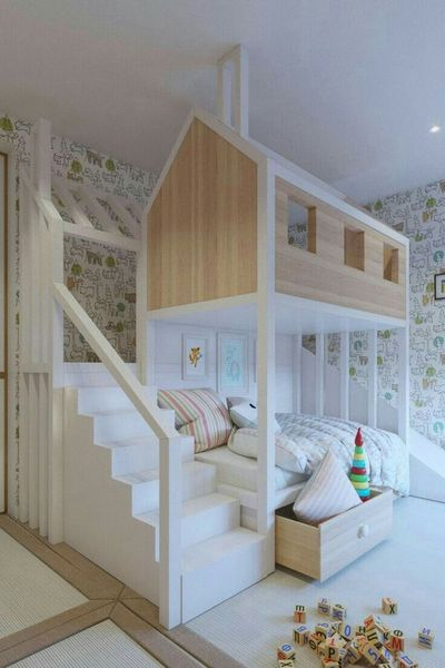 15 Bed Selections For Kids Room Design Mybabydoo Cool Kids
