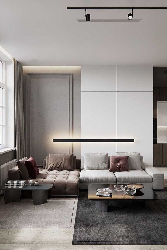 Pin By Job Chen On Design Contemporary Living Room Design Living Room Trends Room Design