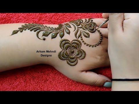 Arham Mehndi Designs Youtube Dulhan Mehndi Designs Henna Designs Mehndi Designs