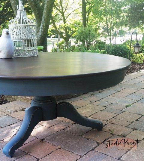 Walnut Coffee Table From Mora Painted