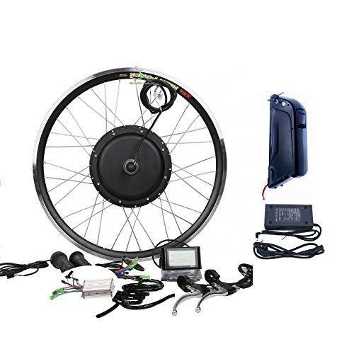 Theebikemotor 36v500w Hub Motor 11ah Li On Battery Powered Electric Bike Conversion Kit Lcd Electric Bike Electric Bike Conversion Bike