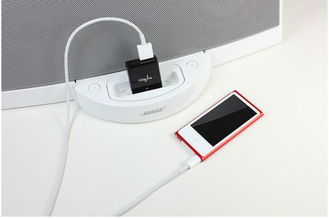 Tech must-have: dockBoss 5 converter so you can use your 30 pin audio docks with the new iPhone5 or other lightning USB devices.